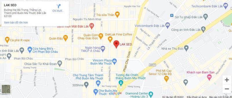 Gan google map cho website