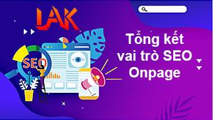 Tong ket ve seo onpage