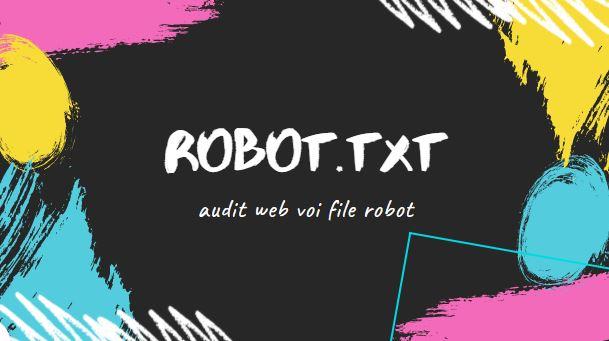 Kiem tra file robot txt