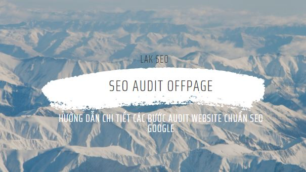 SEO Audit Offpage